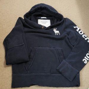 Abercrombie navy hoodie